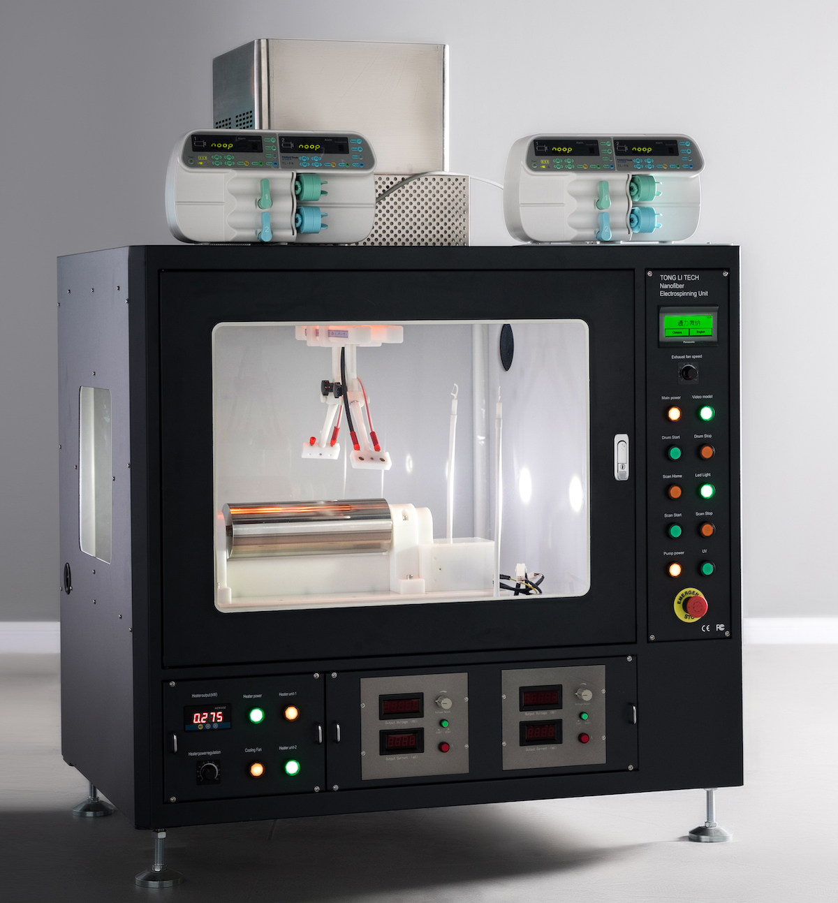 Robotic electrospinning equipment